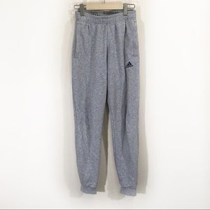 Adidas Heather Grey Ankle Jogger Sweatpants Small